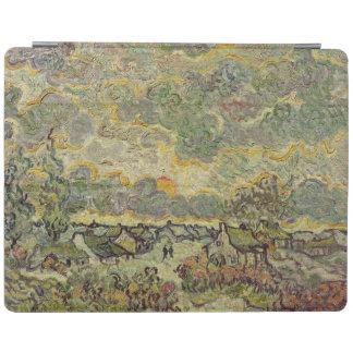 Herbstlandschaft Vincent van Goghs |, 1890 iPad Hülle