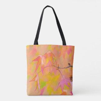 Herbstlaub-Kunst-Taschentasche Tasche