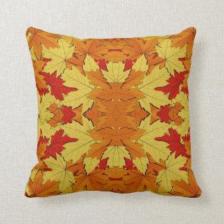 Herbstlaub-Muster-Kissen-Wohngestaltung Kissen