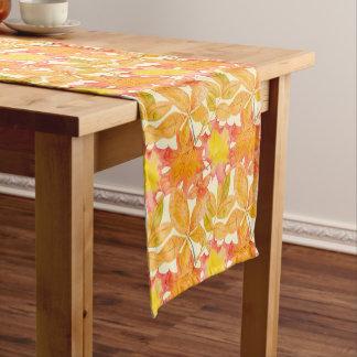 Herbstlaub-Muster Kurzer Tischläufer