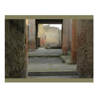 Herculaneum-Ruinen, Kampanien, Italien-Postkarte Postkarte