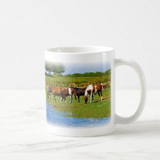 Herde der Pferde Kaffeetasse