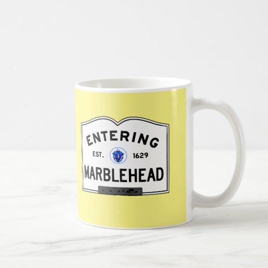 Hereinkommendes Marblehead Kaffeetasse