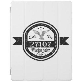 Hergestellt in 27107 Winston Salem iPad Hülle