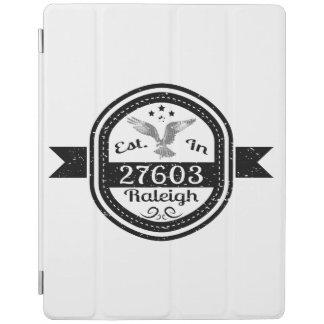 Hergestellt in 27603 Raleigh iPad Hülle