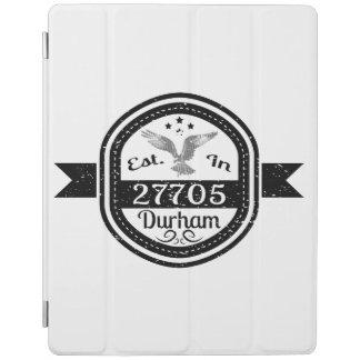 Hergestellt in 27705 Durham iPad Hülle
