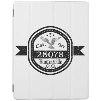 Hergestellt in 28078 Huntersville iPad Hülle