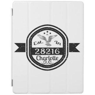 Hergestellt in 28216 Charlotte iPad Hülle