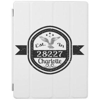 Hergestellt in 28227 Charlotte iPad Hülle