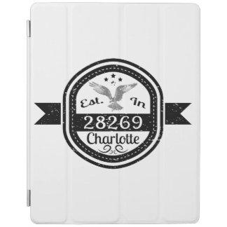 Hergestellt in 28269 Charlotte iPad Hülle