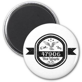 Hergestellt in 47906 Westlafayette Runder Magnet 5,1 Cm