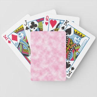 Hergestellte rosa Wolken-Entwurfs-Spielkarten Pokerkarten