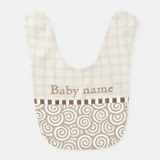 Hergestelltes Baby Babylätzchen