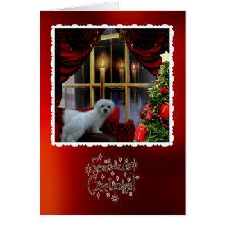 Hermes die maltesische Weihnachtsgruß-Karte Karte
