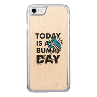 Herr Bump | ist heute ein holperiger Tag Carved iPhone 8/7 Hülle