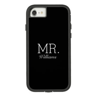 Herr Elegant Script Name Case-Mate Tough Extreme iPhone 8/7 Hülle