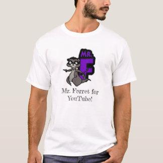 Herr Ferret für Youtube T-Shirt