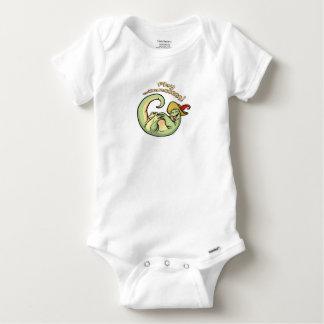Herr Finny Baby Strampler