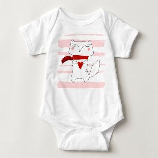 Herr Fox Baby Strampler