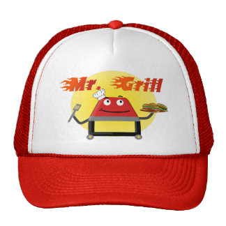 Herr Grill Grilling Hat Baseball Caps