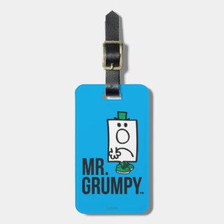 Herr Grumpy Kofferanhänger