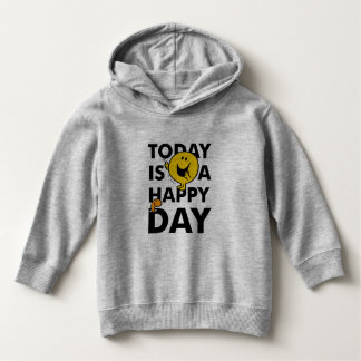 Herr Happy   ist heute ein glücklicher Tag Hoodie