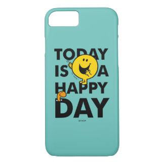 Herr Happy | ist heute ein glücklicher Tag iPhone 8/7 Hülle