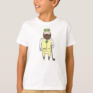 Herr im Golfclub T-Shirt