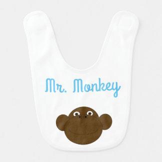 Herr Monkey Baby Bib Babylätzchen