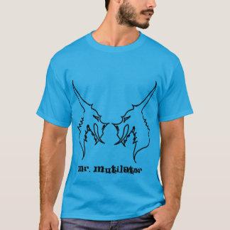 Herr Mutilator Gesicht-Weg T-Shirt