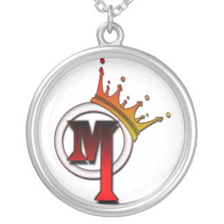 Herr Muzik Necklace (rund) Halskette Mit Rundem Anhänger
