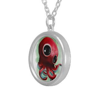 Herr Octopus Versilberte Kette