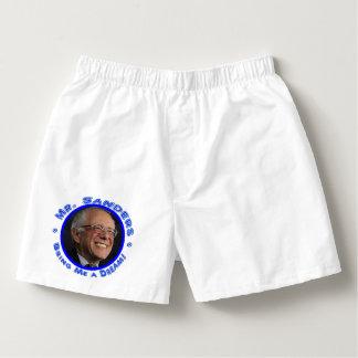 Herr Sanders - holen Sie mir einen Traum! Die Herren-Boxershorts