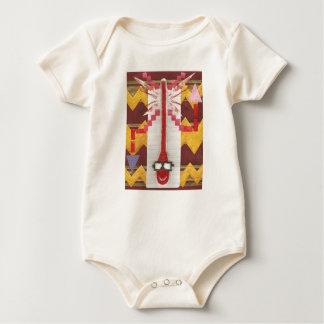 Herr Thermostat Organic Babygro Baby Strampler
