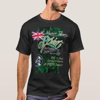 Herr Ts Spirit dragster T-Shirt. Vorderer Entwurf T-Shirt