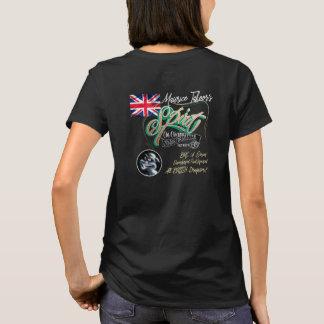 Herr Ts Spirit T-Shirt. Damen gepasst - kein Rauch T-Shirt