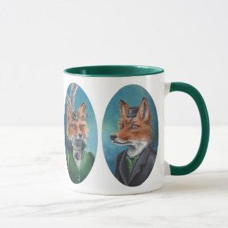Herr-u. Frau-Fox Mug Fox Mug viktorianische Tasse
