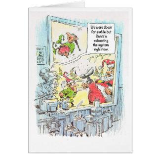 Herr-und Frau-Klaus Weihnachtskarte Karte