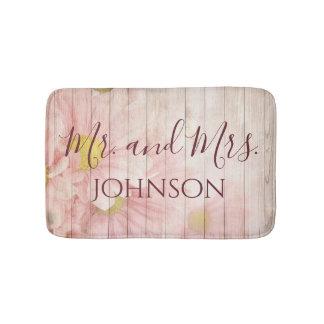 Herr und Frau Lovely Pink Floral Badematte