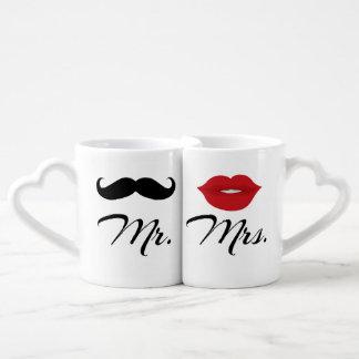 Herr und Frau Lovers' Mug Set Liebestassen