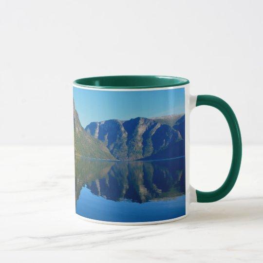 Herrliche Fjorde, Norwegen Tasse
