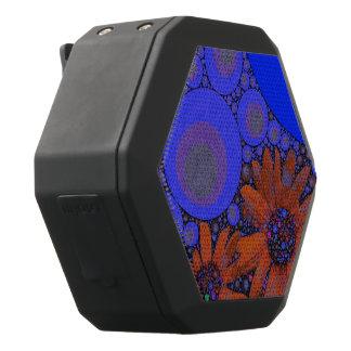Herrliche helle blaue orange Sonnenblumen Schwarze Bluetooth Lautsprecher