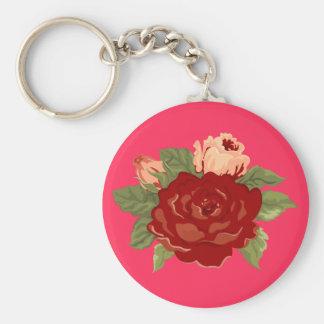 Herrliche Rosen-Sammlung Schlüsselanhänger
