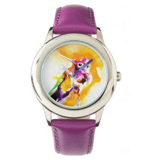 Herrlicher Gorget-Kolibri-Druck Armbanduhr