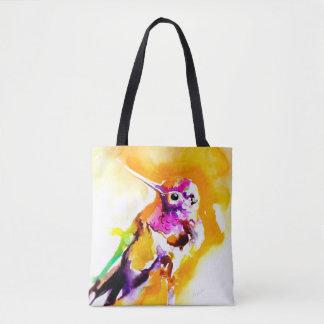 Herrlicher Gorget-Kolibri-Druck Tasche