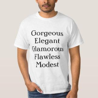 Herrliches elegantes bezauberndes fehlerloses shirt