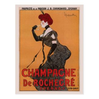 Herrliches Vintages Kunst nouveau französische Postkarte