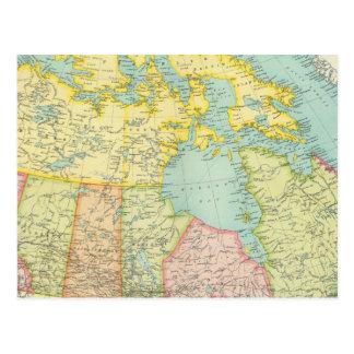 Herrschaft von Kanada politisch Postkarte