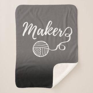 Hersteller-Handwerks-Typografie-Druck Sherpadecke