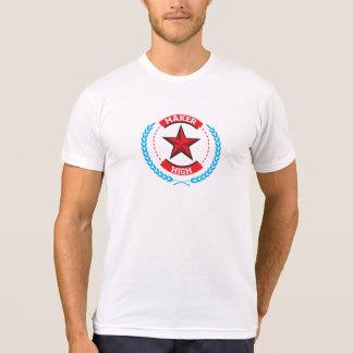 Hersteller hoch T-Shirt